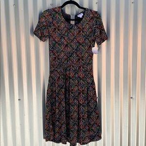 NWT Lularoe Amelia Sheer Day Dress Small